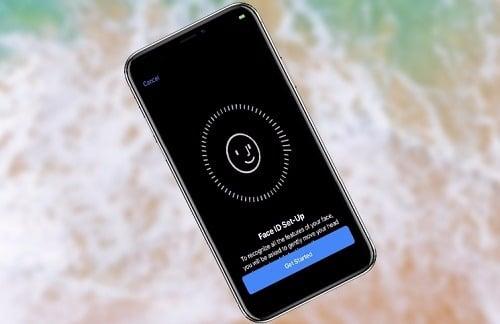 cách sử dụng Face id cho iphone 8 plus