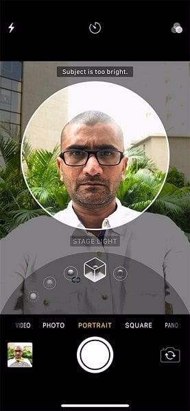 phần mềm chụp ảnh chân dung của iphone x