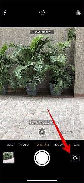 thêm hiệu ứng mới chụp ảnh chân dung của iphone x