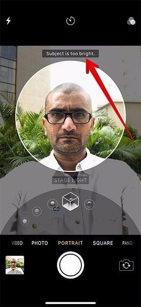 cách dùng chụp ảnh chân dung của iphone x
