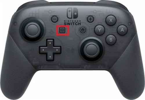 cách dùng các nút thao tác trên Nintendo Switch