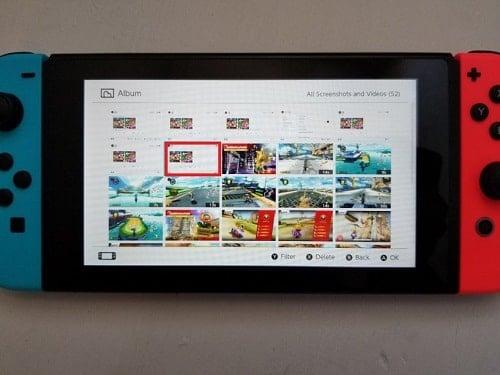hình ảnh tay cầm chơi game Nintendo Switch