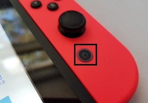 cách chụp màn hình Nintendo Switch
