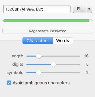1Password trên macbook