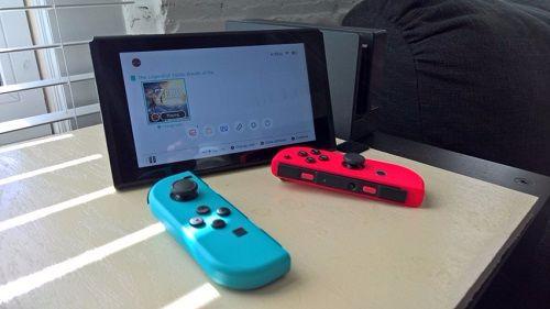 Nintendo Switch Joy-Cons cho hai người chơi