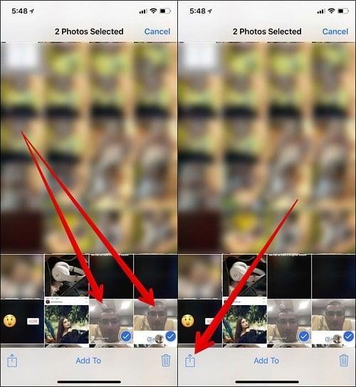 Cách sử dụng AirDrop trên iPhone X