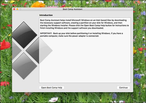 khắc phục lỗi cài Windows trên Mac Với Boot Camp