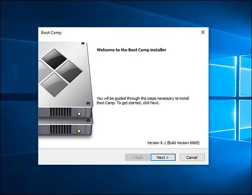 không cài Windows trên Mac bằng Boot Camp