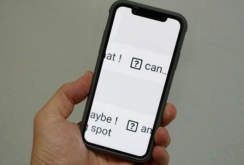hướng dẫn khắc phục lỗi bàn phím ios 11