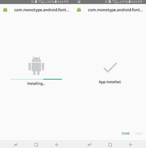 cách thêm Font chữ đẹp cho điện thoại