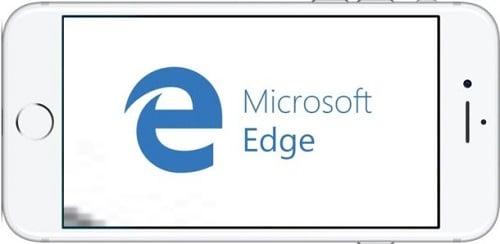 Trình duyệt Microsoft Edge cho iphone