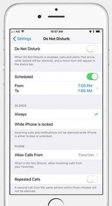 tắt thông báo tin nhắn iphone