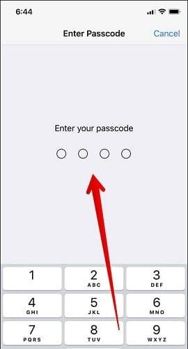 thanh toán ứng dụng bằng face id