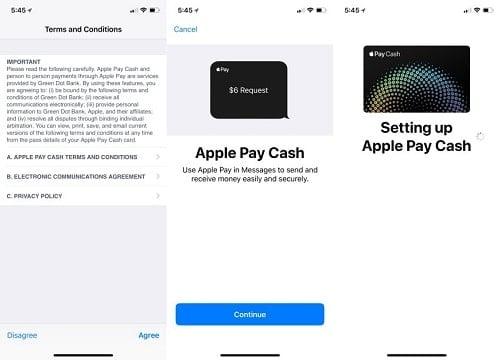 hướng dẫn dùng apple pay cash cho ipad