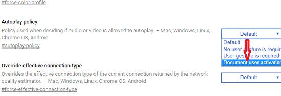 hướng dẫn tắt video tự động phát