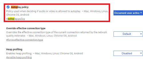 tắt video tự động phát trên máy tính