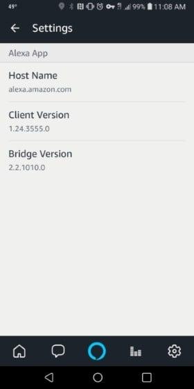 ứng dụng Amazon Alexa trên android
