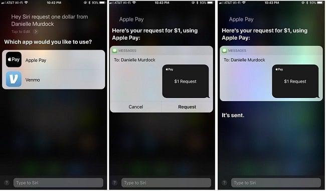 chuyển tiền bằng điện thoại iphone với apple pay cash