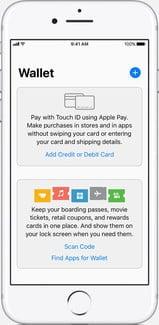 hướng dẫn dùng Apple pay trên ios 11