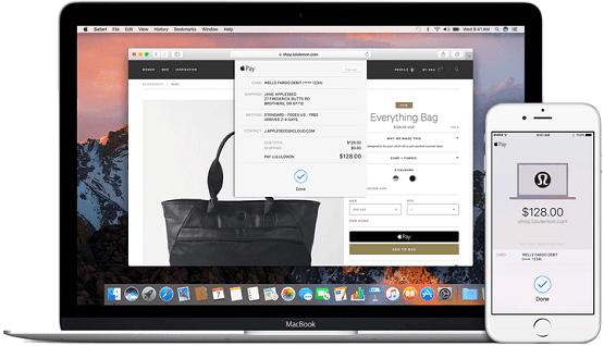 hướng dẫn dùng Apple pay cho MAC