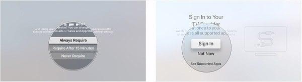 cách thiết lập lại Tivi của Apple trên iPhone