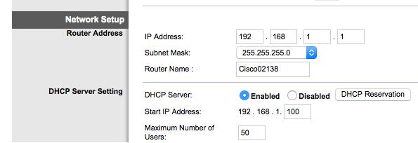 Địa chỉ iP của wifi VIETTEL