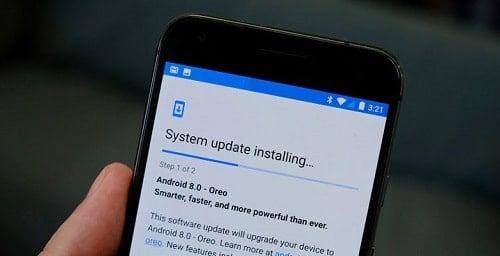 cập nhật hệ điều hành android
