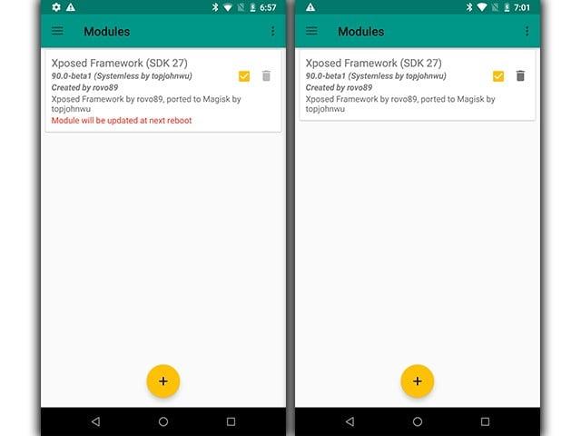 Framework Xposed cho Android 8 Oreo