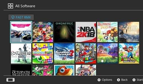 cài game online trên nintendo switch