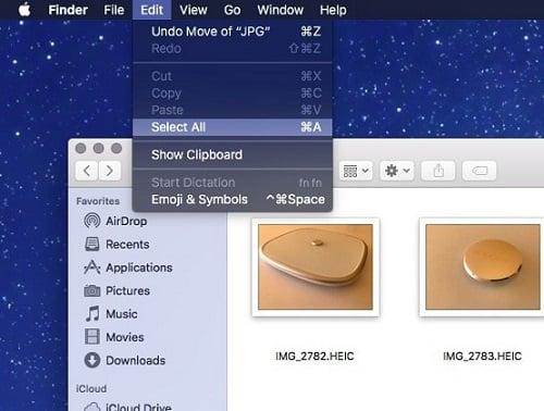 chuyển đổi hình ảnh HEIF thành định dạng JPEG