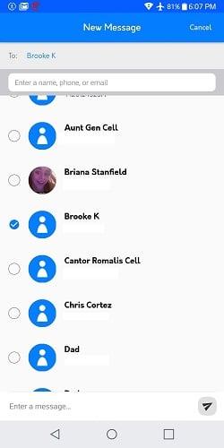 ứng dụng nhắn tin imessage trên android