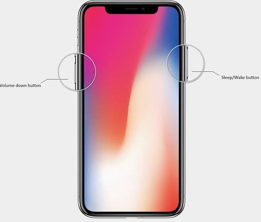 khôi phục cài đặt gốc cho iphone x