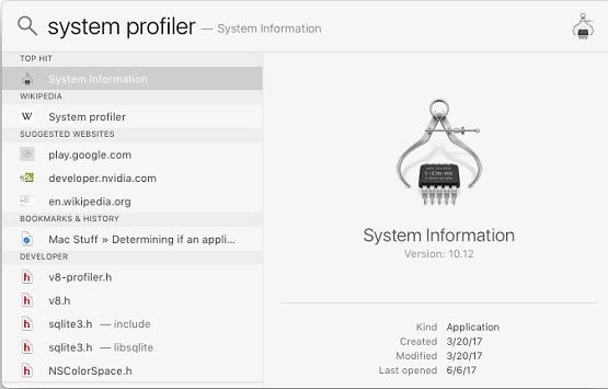 kiểm tra ứng dụng 64bit cho MACbook