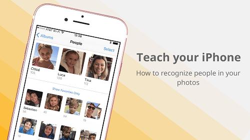 dạy cho iphone nhận diện khuôn mặt