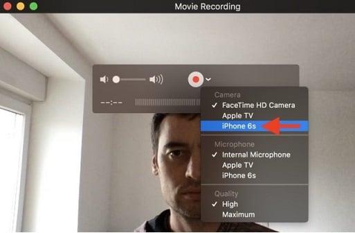 hướng dẫn quay video facetime trên iphone