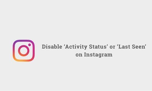 hướng dẫn cách tắt trạng thái hoạt động instagram