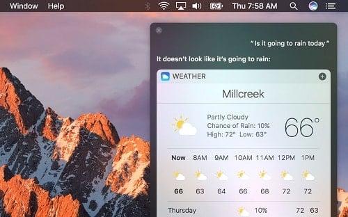 hướng dẫn bật Siri trên laptop mac
