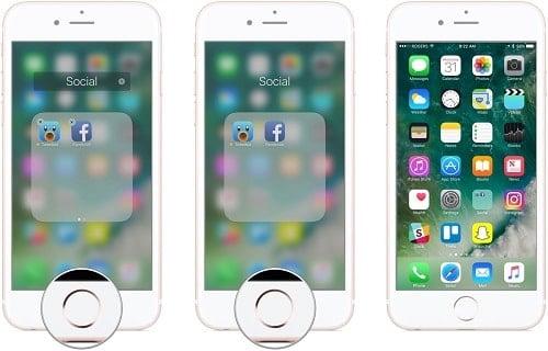 cách duy chuyển ứng dụng trên màn hình iphone