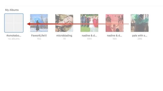 hướng dẫn sử dụng Album ảnh của MAC