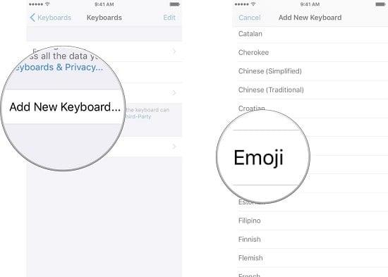 cách dùng biểu tượng cảm xúc emoji trên iphone