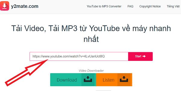 cách tải bài hát trên youtube online