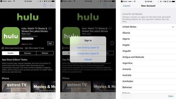 cách đổi quốc gia cho iTunes trên ipad