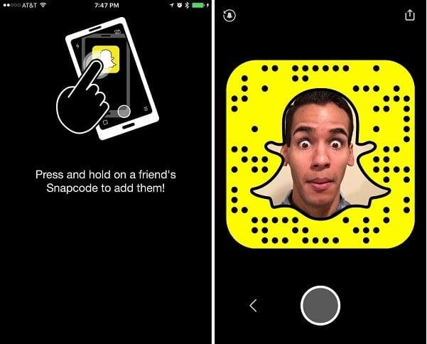 Cách tải, đăng ký tài khoản và cách thêm bạn bè Snapchat 1