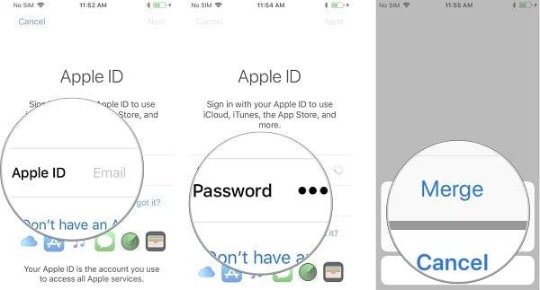 hướng dẫn khóa tài khoản Apple ID