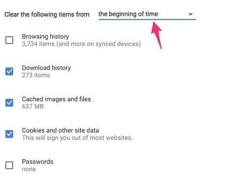 Xóa lịch sử duyệt web nhanh nhất