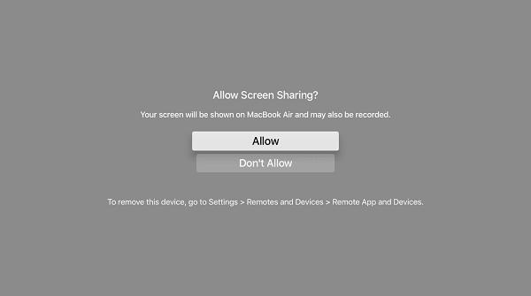 hướng dẫn quay video màn hình apple tv