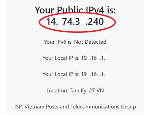 hướng dẫn kiểm tra địa chỉ iP trên PC