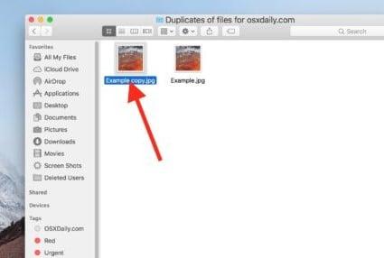 hướng dẫn tạo bản sao cho Thư mục trên MAC