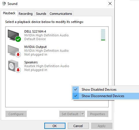 hướng dẫn cách sửa lỗi HDMI Audio cho windows