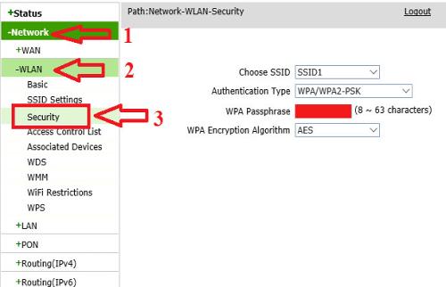 hướng dẫn thay đổi mật khẩu wifi nhanh